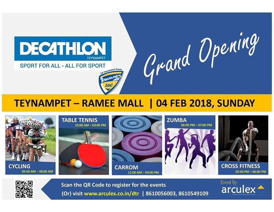 Decathlon Sports India Open Tournament
