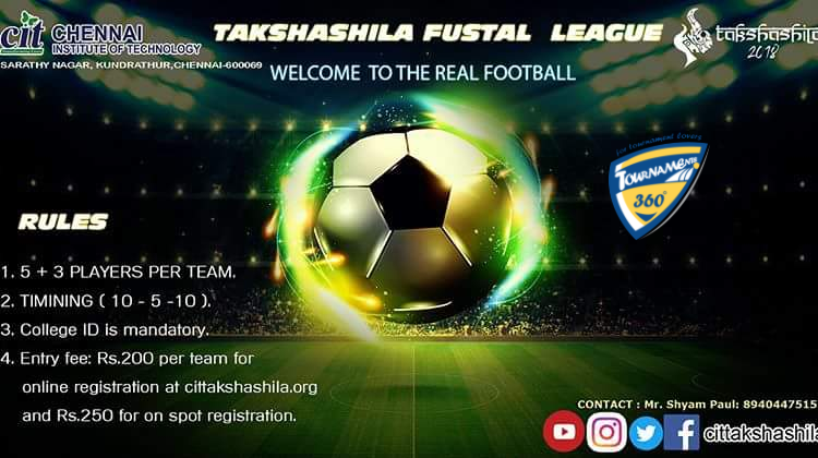 Takshashila Fustal League