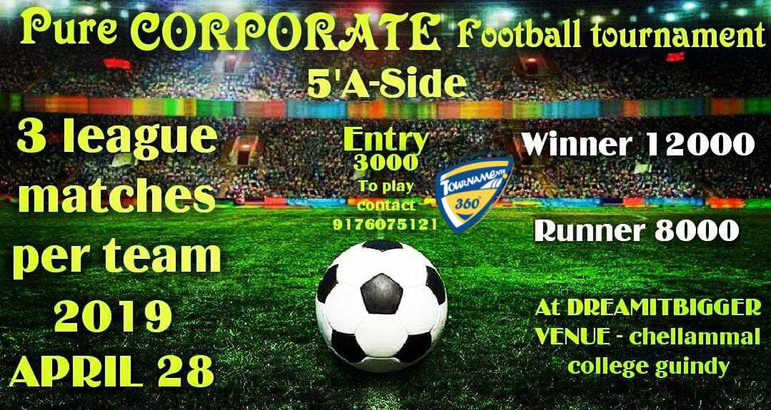 Pure Corporate Football Tournament