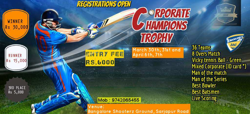 Corporate Champions Trophy 2019