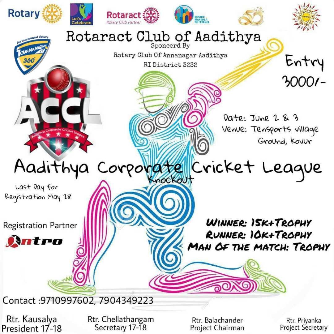 Aadithya Corporate Cricket League