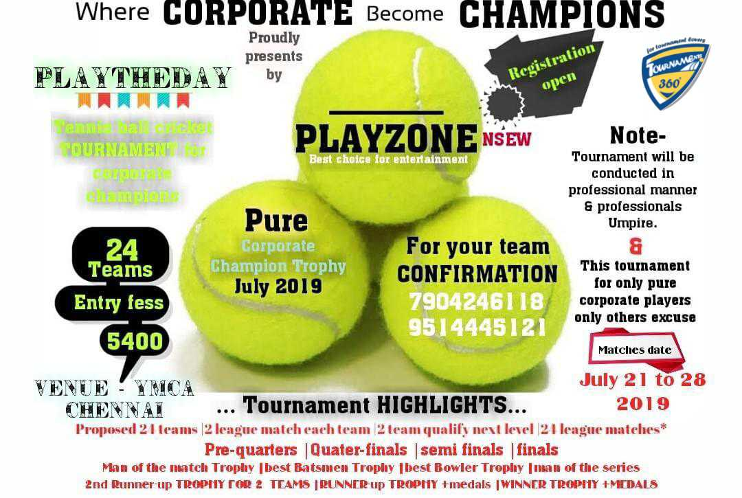 Pure Corporate Champion Trophy 2019