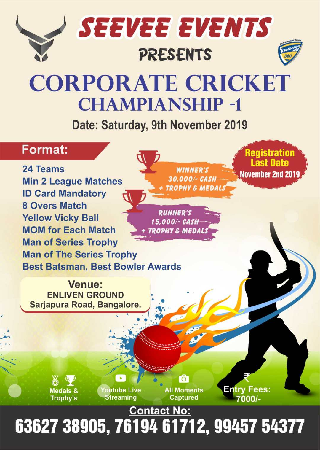 Corporate Cricket Championship 1