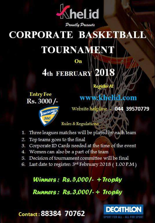 Corporate Basketball Tournament