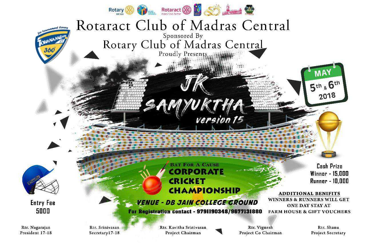JK Samyuktha Corporate Cricket Championship 2018