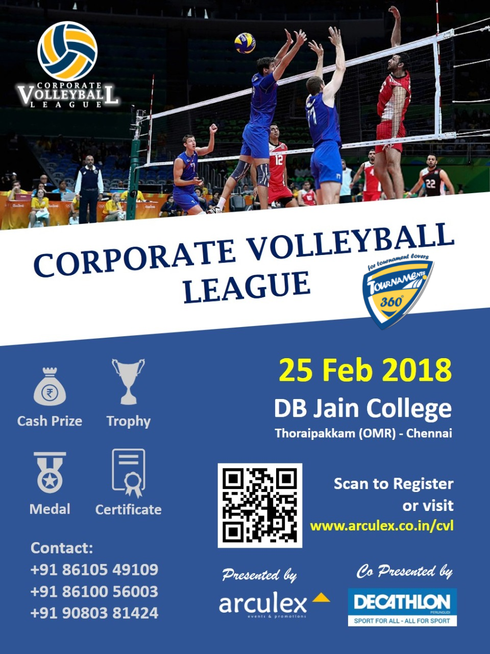 Corporate Volleyball League