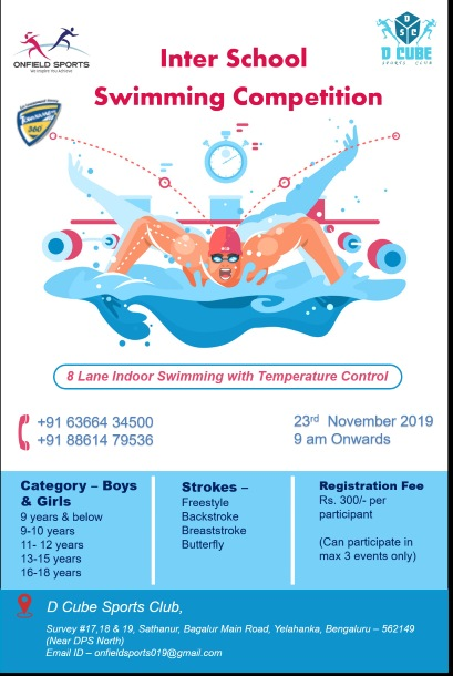 Inter School Swimming Competition