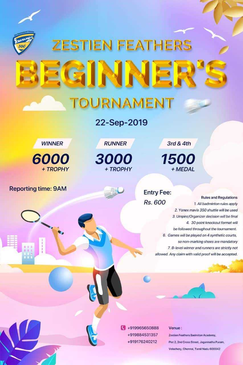 Beginner's Badminton Tournament