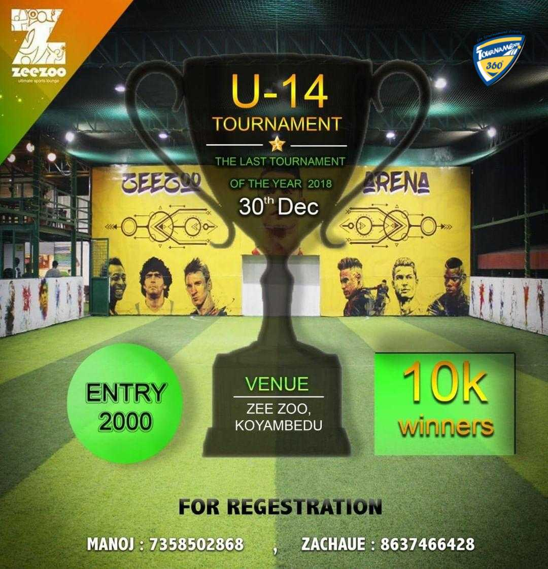 U14 Futsal Tournament 2018