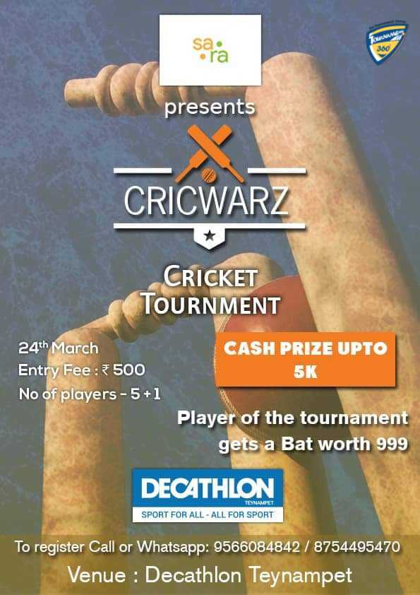 Cricwarz Cricket Tournament 2019