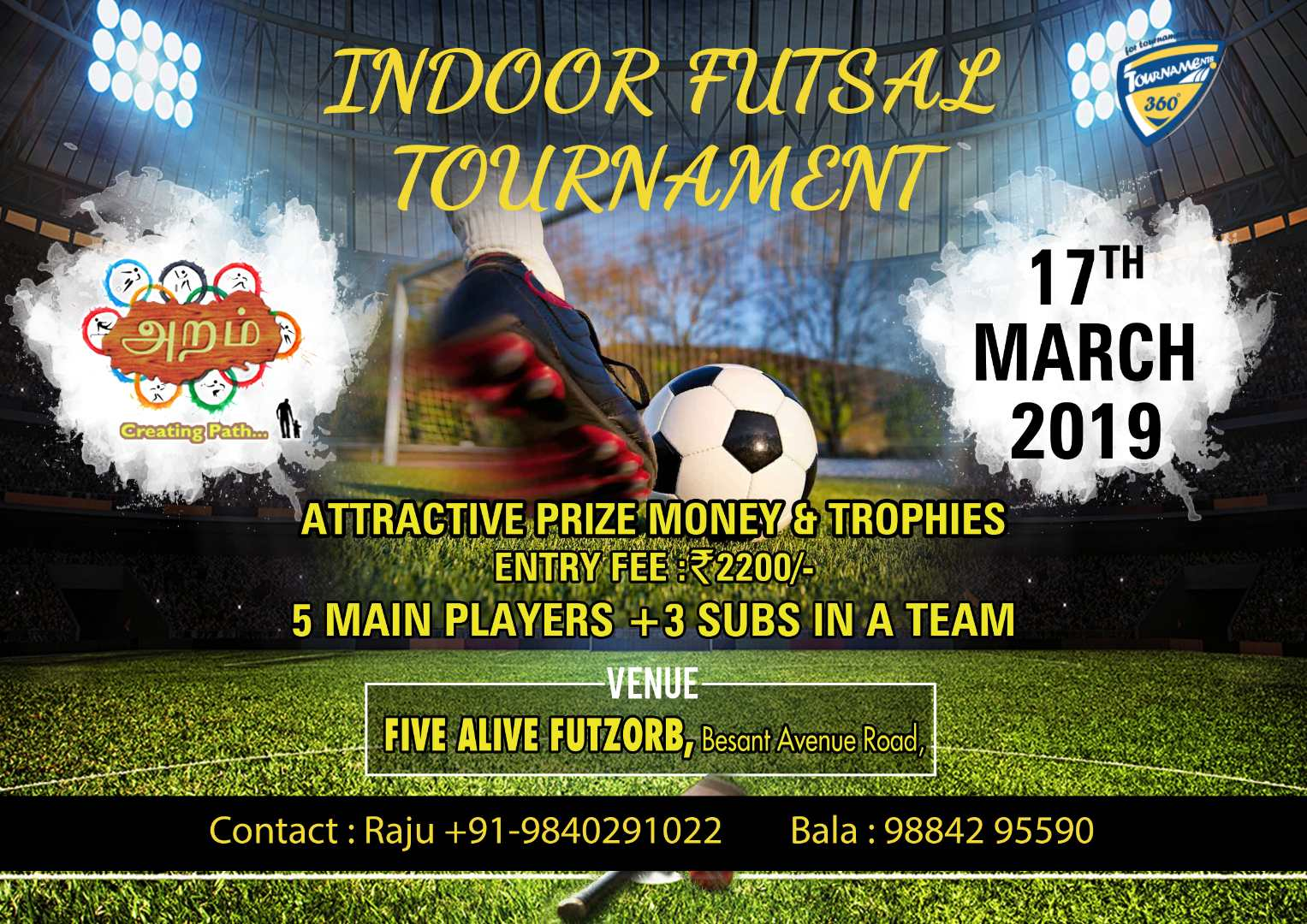 Indoor Futsal Tournament 2019