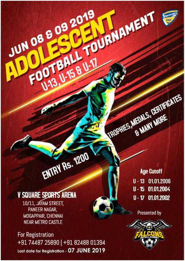 Adolescent Football Tournament
