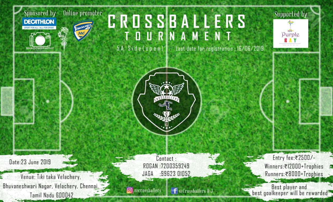 Crossballers 5A Side Football Tournament