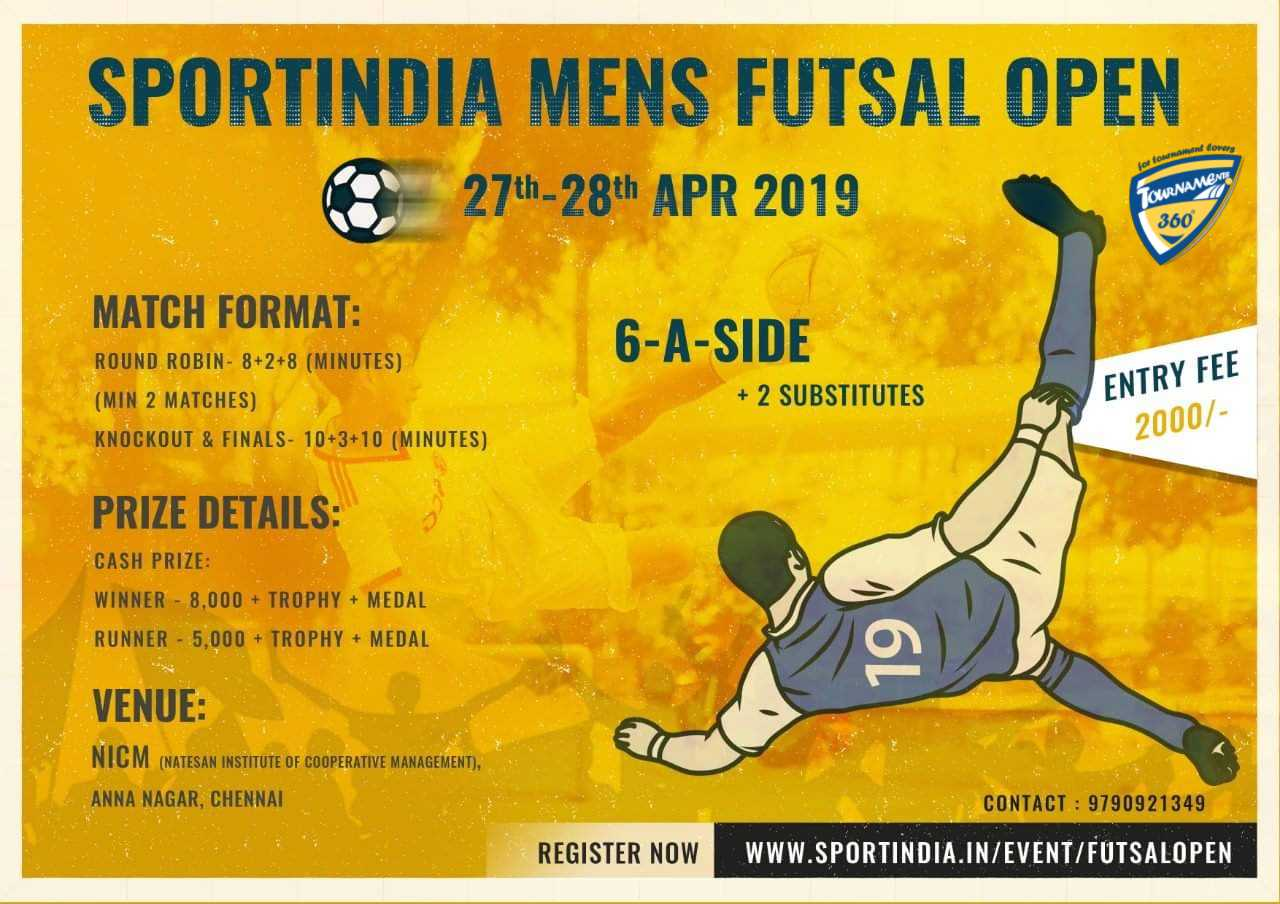Sportindia Mens Futsal Open