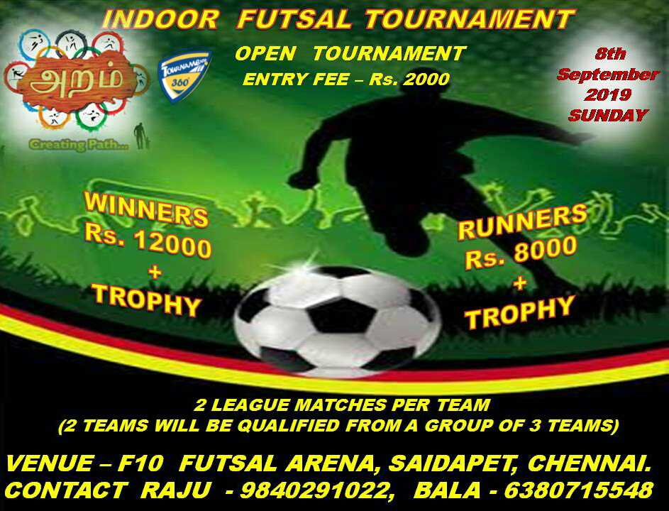 Indoor Futsal Open Tournament