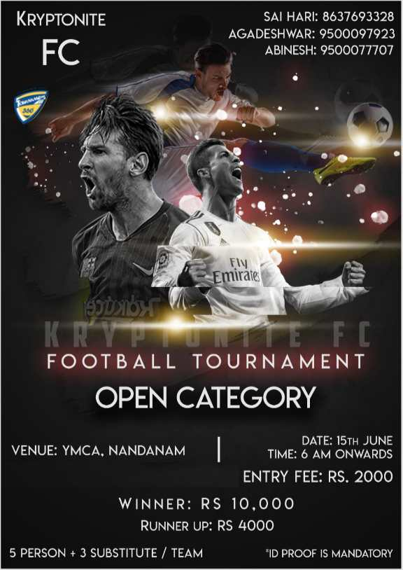 Open Football Tournament
