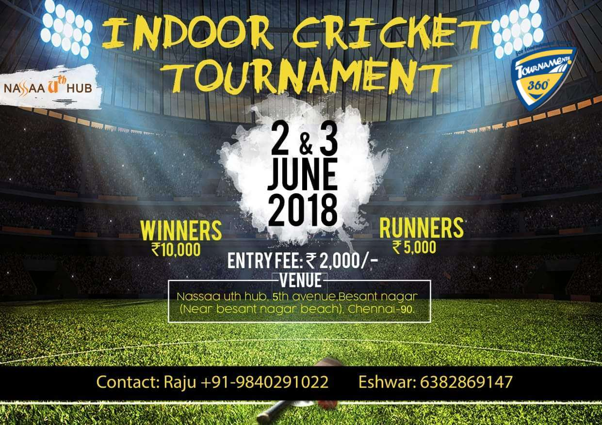 Indoor Cricket Tournament 2018