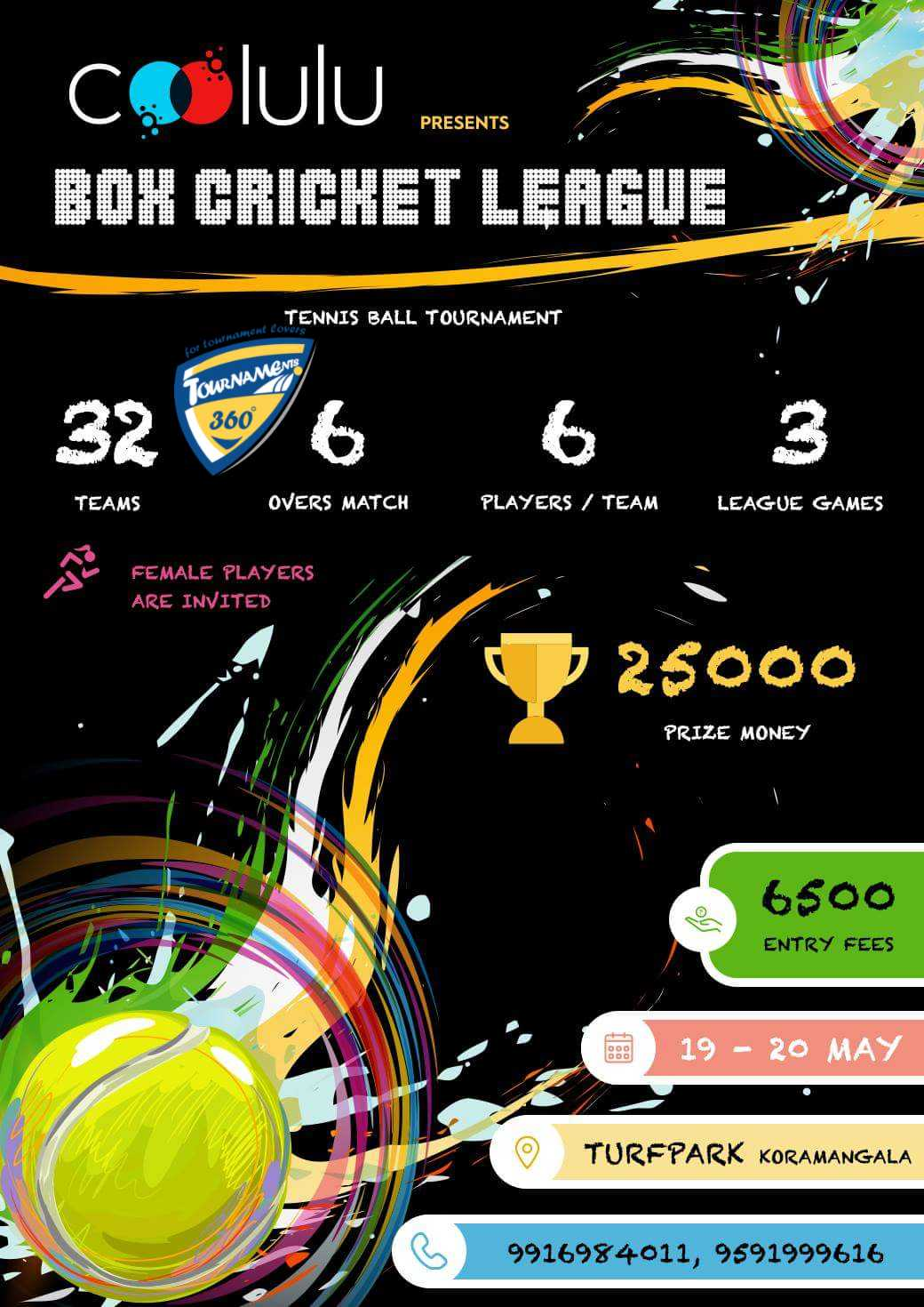 Box Cricket League in Bangalore