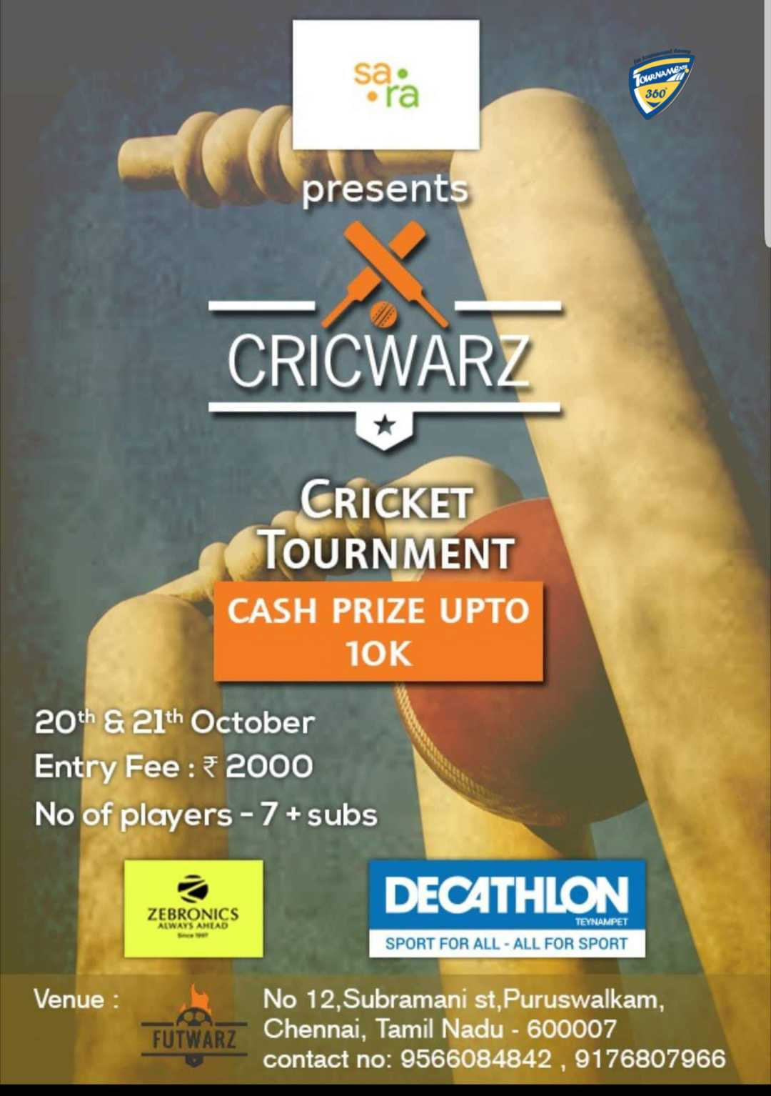 Cricwarz Cricket Tournament