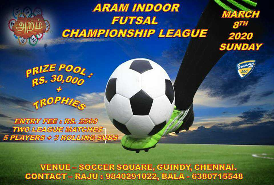 Aram Indoor Futsal Championship League