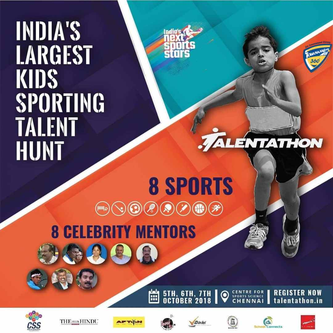 Talentathon India's Largest Youth Sports talent hunt