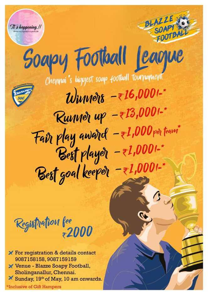 Soapy Football League