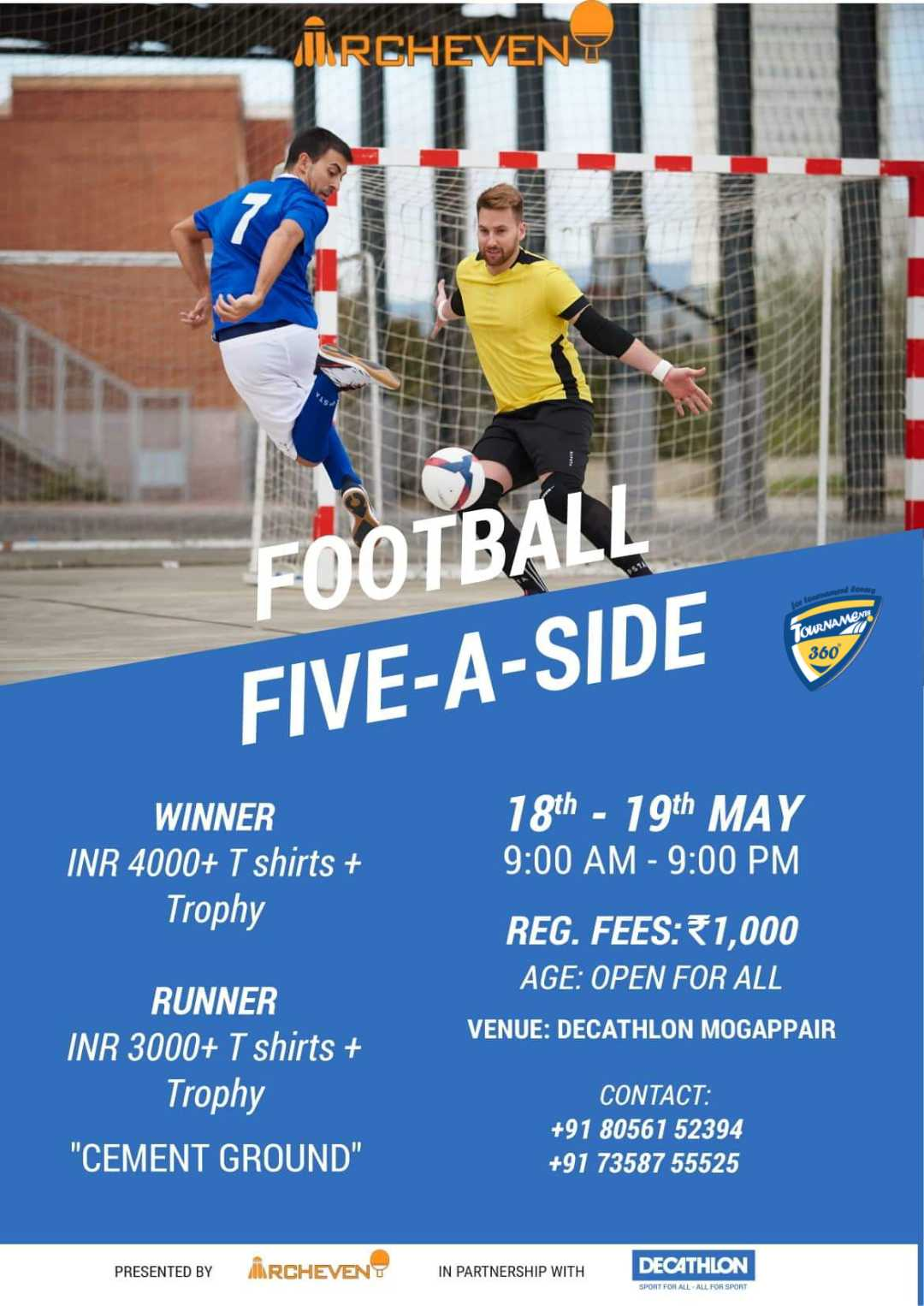 Five A Side Football Tournament