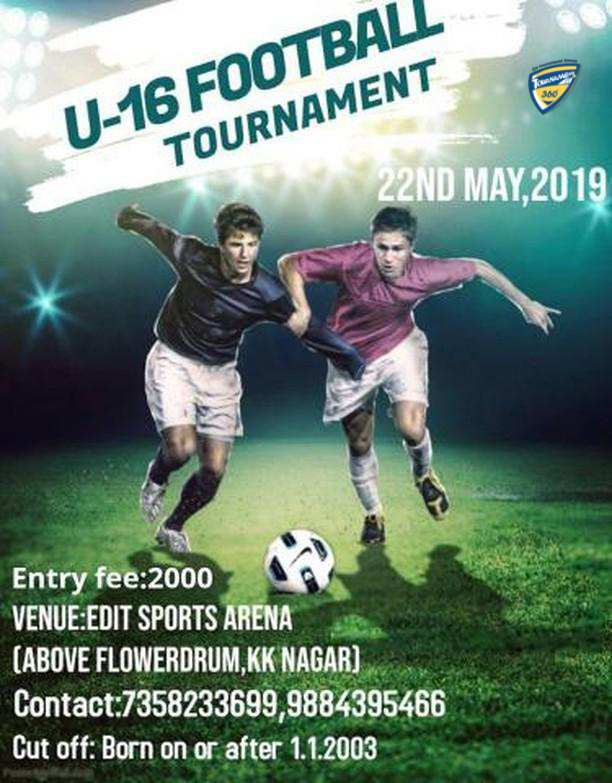 U16 Football Tournament 2019