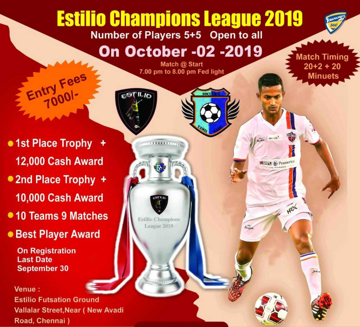 Estilio Champions League 2019