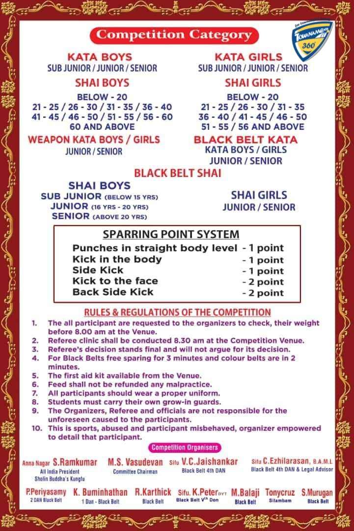 National All Style Martial Arts Championship 2019