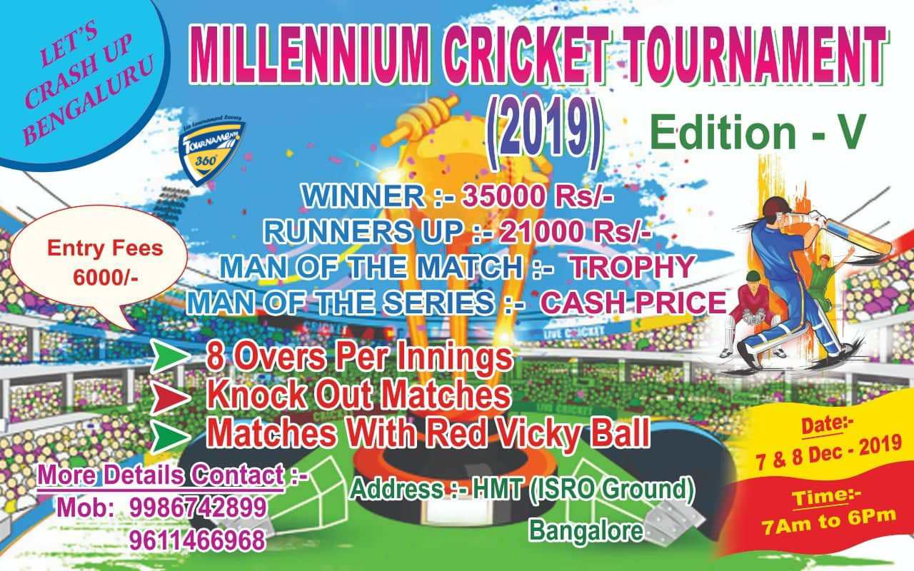 Millennium Cricket Tournament Edition V