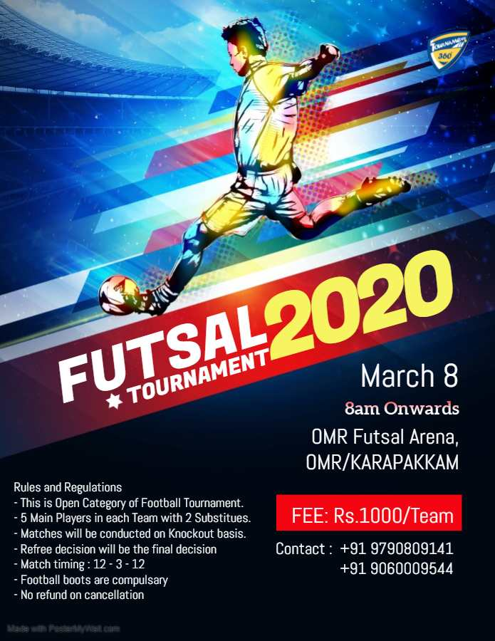 Futsal Tournament 2020
