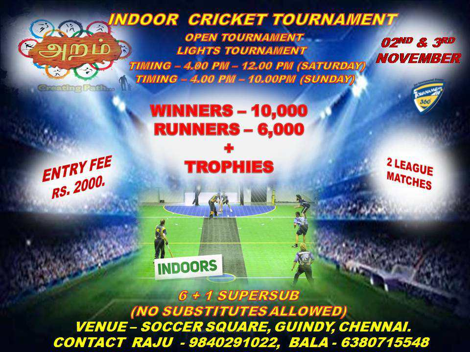 Indoor Cricket Tournament 2019