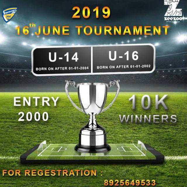 Open Football Tournament in Chennai