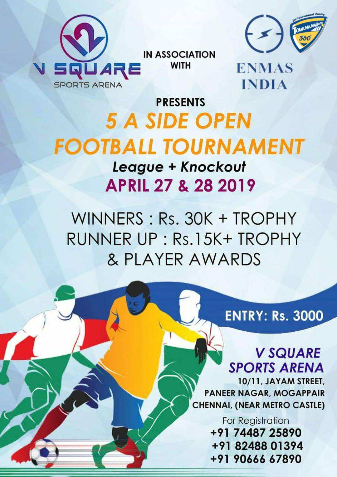 5 A Side Open Football Tournament