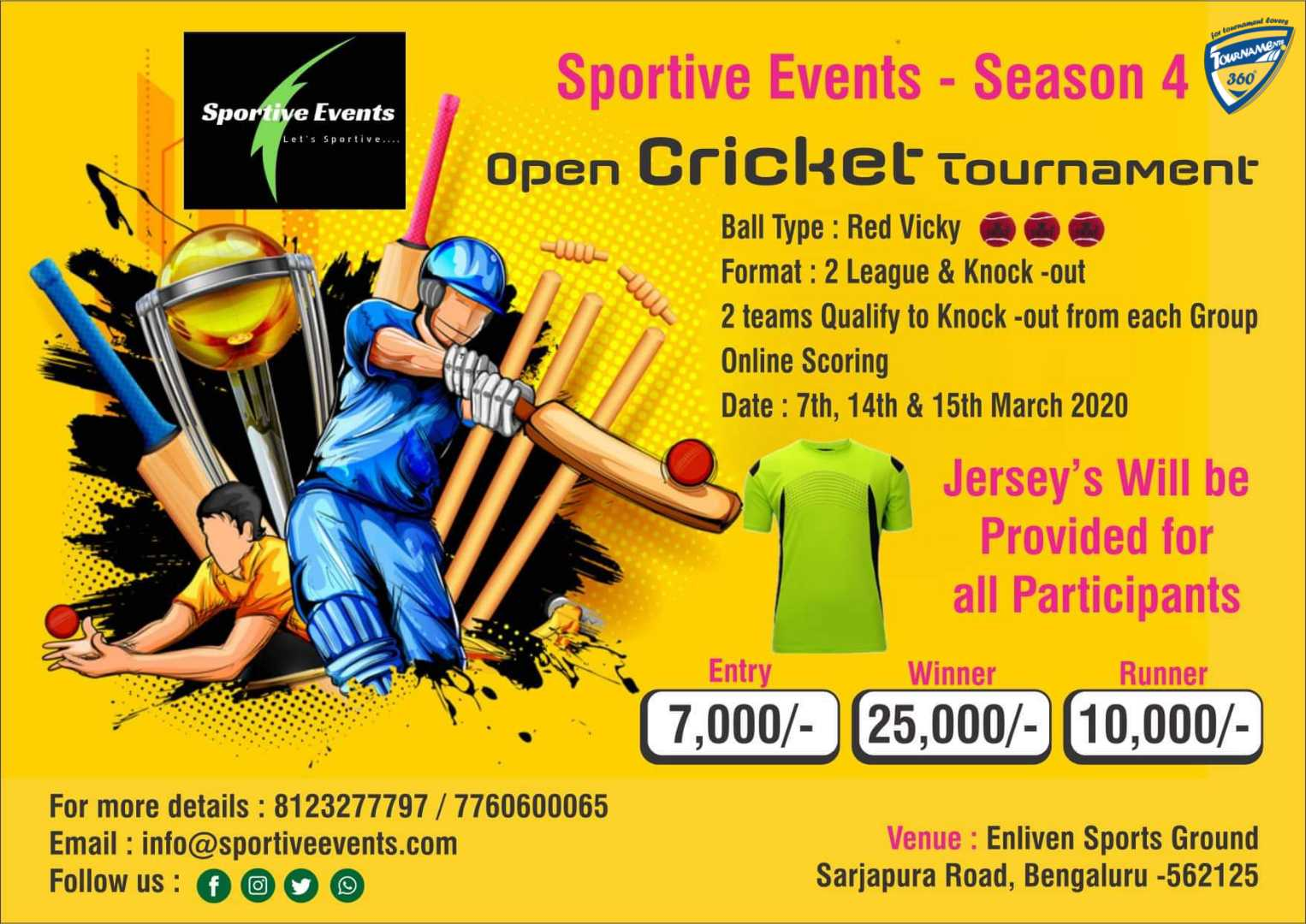 Open Cricket Tournament Season 4
