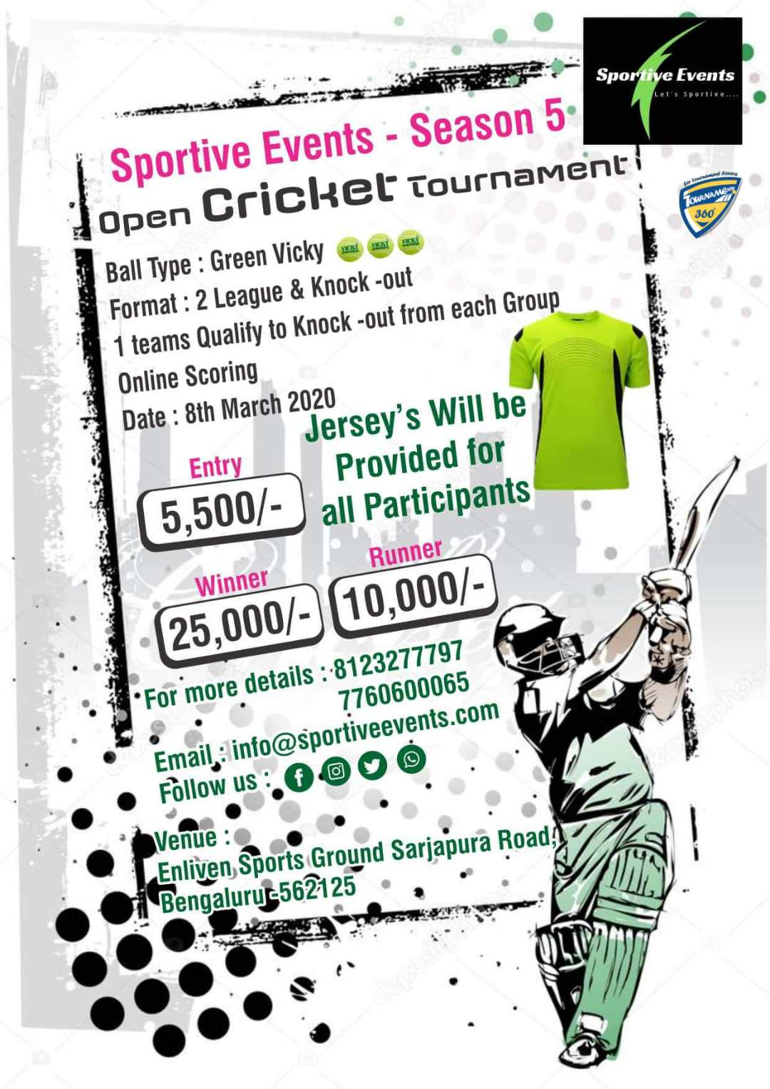 Open Cricket Tournament Season 5