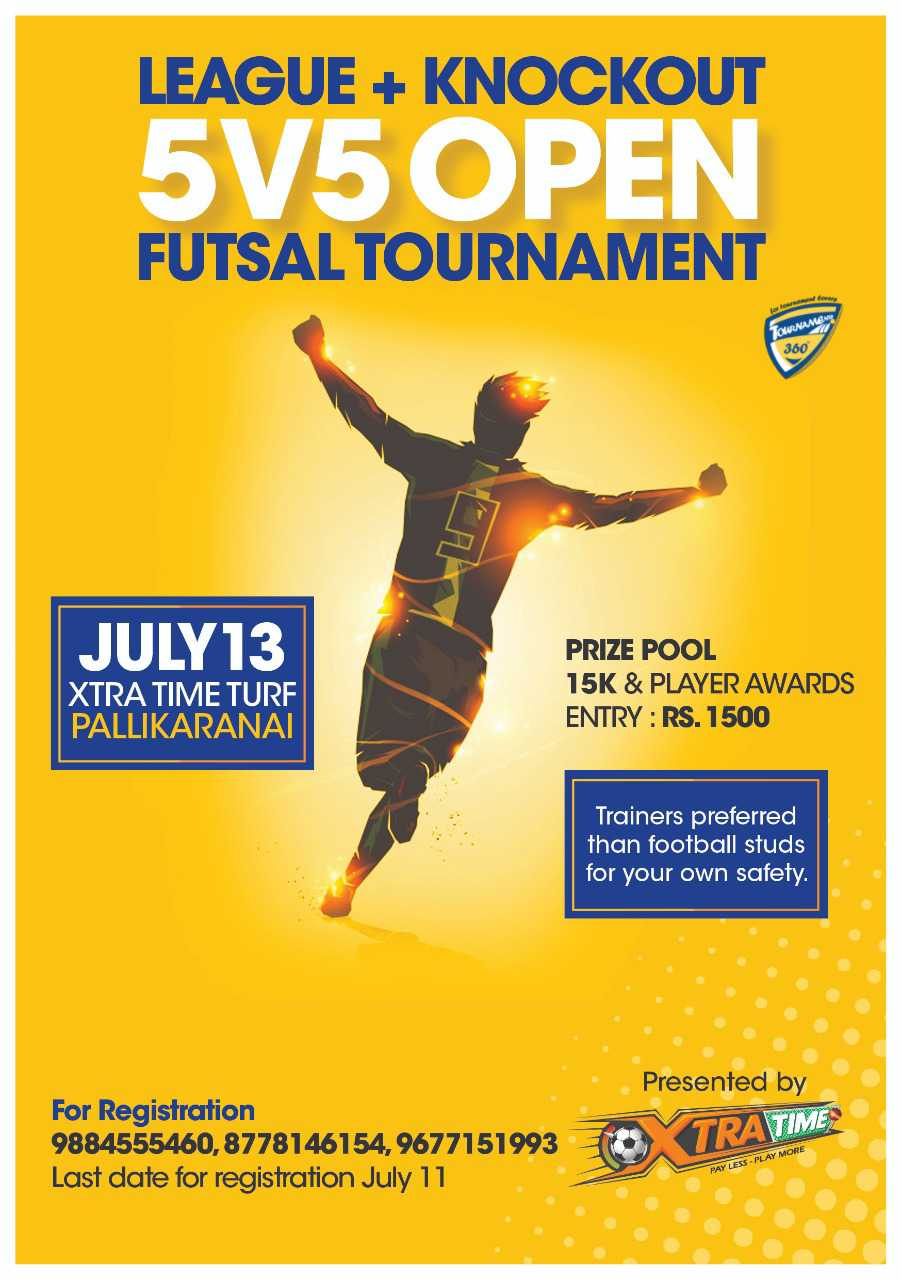 5vs5 Open Futsal Tournament