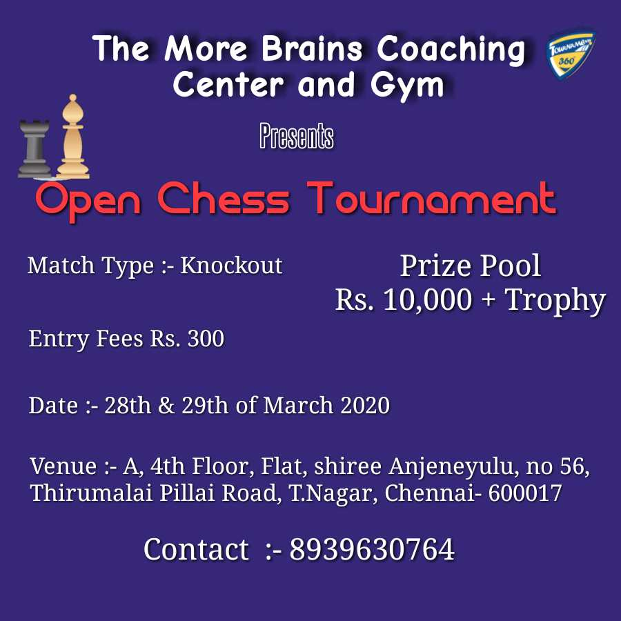 Open Chess Tournament