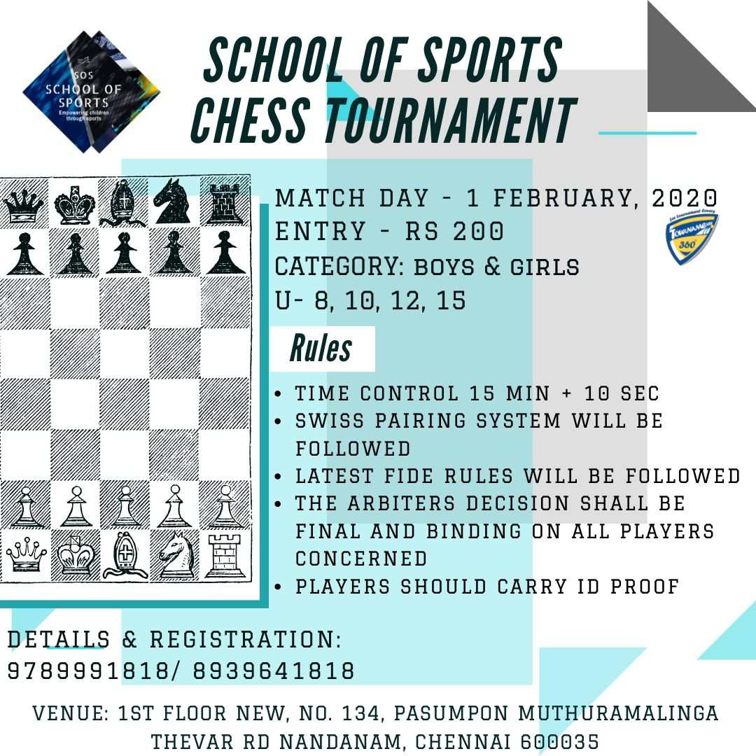 School of Sports Chess Tournament